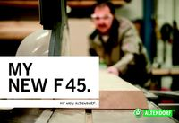 Altendorf F45 Series Brochure