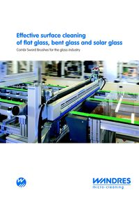 Wandres, Combi Sword Brushes For The Glass Industry Literature