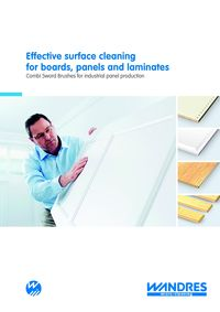 Wandres, Effective Surface Cleaning For Boards, Panels And Laminates Literature