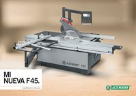 Altendorf F45 - Spanish Brochure