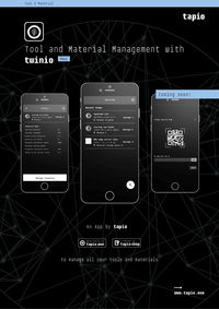 tapio Tool and Material Management with Twinio